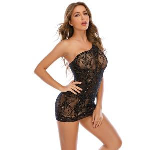 Hot Transparent See Through Lace Sexy Lingerie Plus Size Mesh Bodysuit Erotic Lingerie Underwear Costumes Teddy Sexy Lingerie