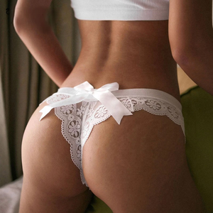 Amazing Women Lace Underwear Femal T-back Thong Sheer Panties Japan Style Hot Sale Transparent Knickers Sexy lingerie